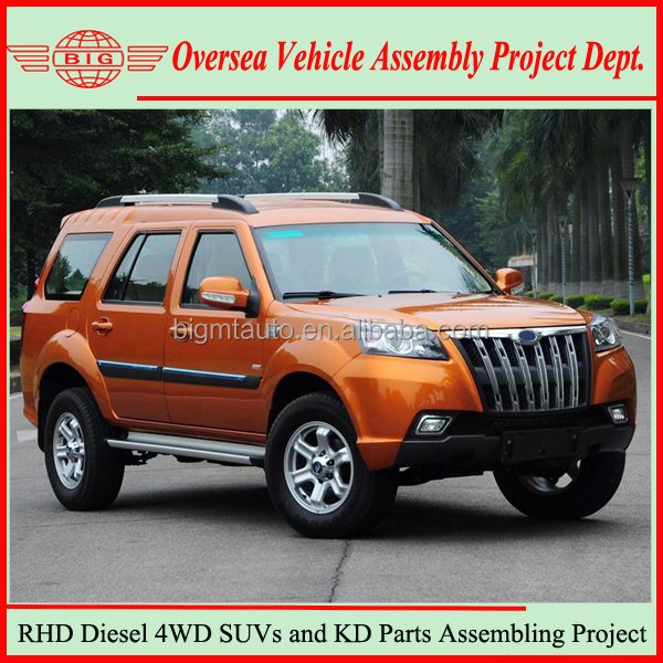 Toyot Diesel Engine Technology Chinese Manuracturing New 4x4 SUV Cars