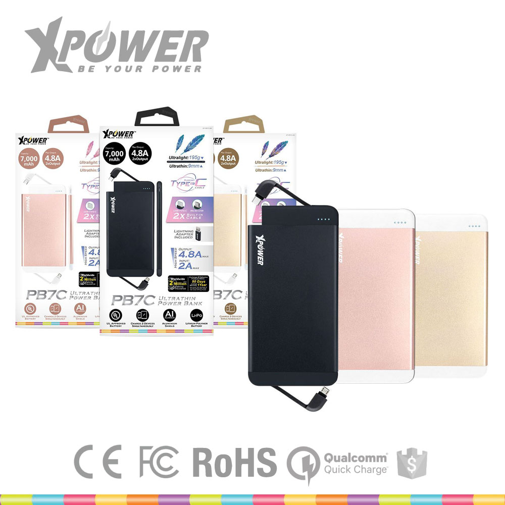 Custom Color High Capacity CE Certificate with Warranty 2 output Ultra-light black IPod Wireless BankPower for Apple IPhone