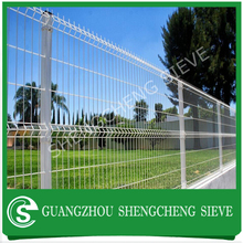 Various colors Powder coated arc weld mesh fence panels for garden used