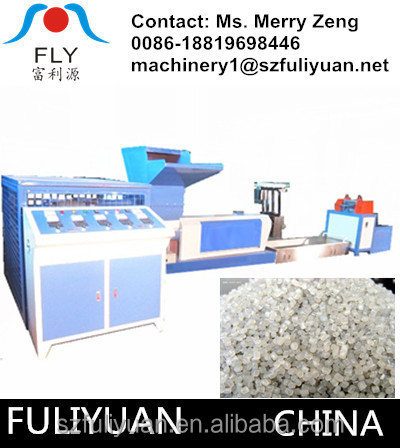 newest FLY200-150 pe foam recycle machine