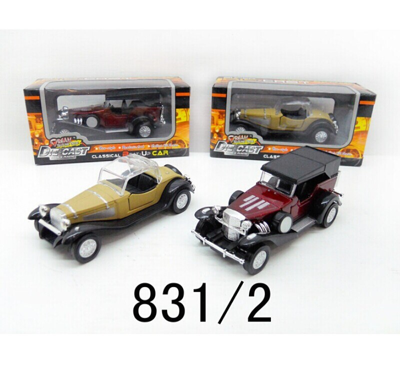 Cheap antique metal classic car toys,small car pull back diecast toys cars