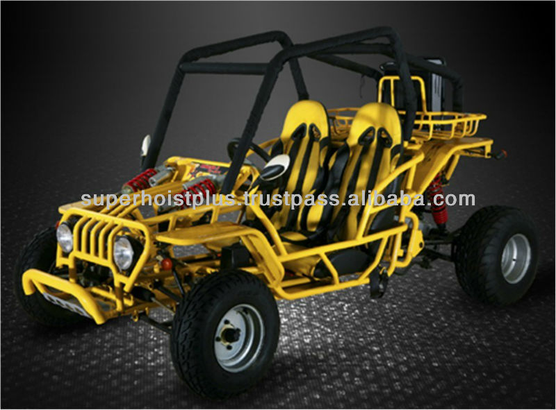 Best Price 4-Stroke Electric Starting Hydraulic Disc Brake Buggy