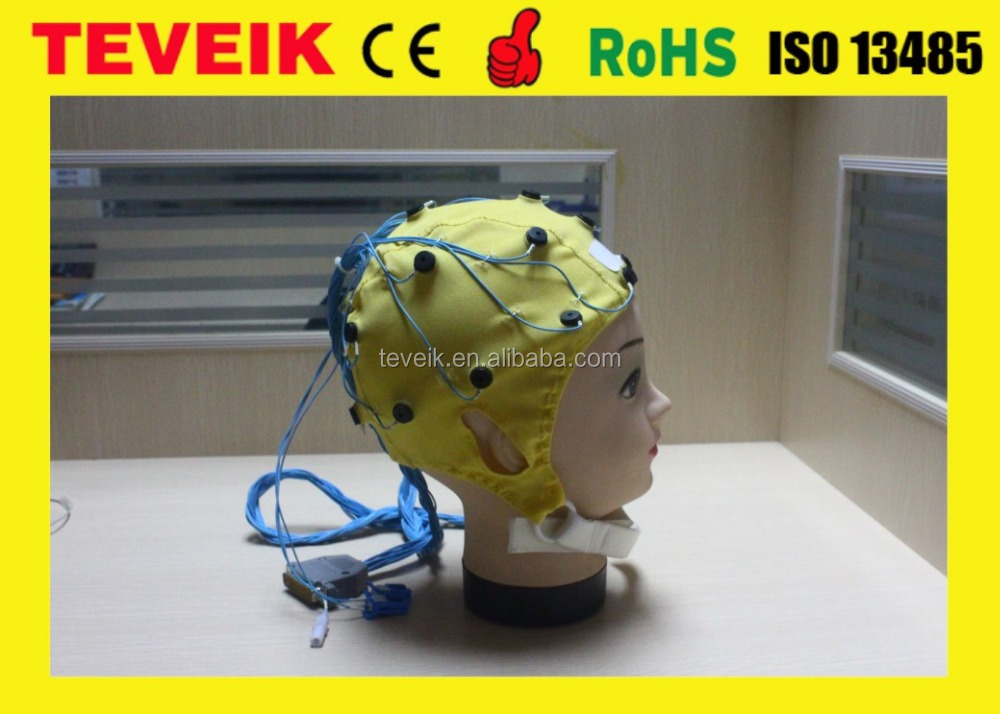 OEM/ODM High Quality EEG Hat 20/32/64/128 Leads Integrated and Separated EEG Hat at Factory Price