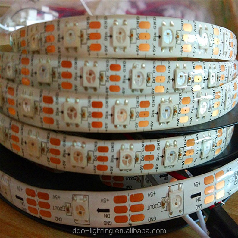 high quality ws2812b 60 led pixel strip with very cheap factory bottom price