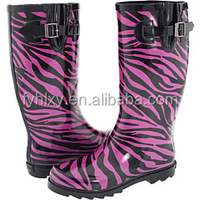 women designer rubber rainboots wholesale ladies rubber rain boots sexy rubber rain boots