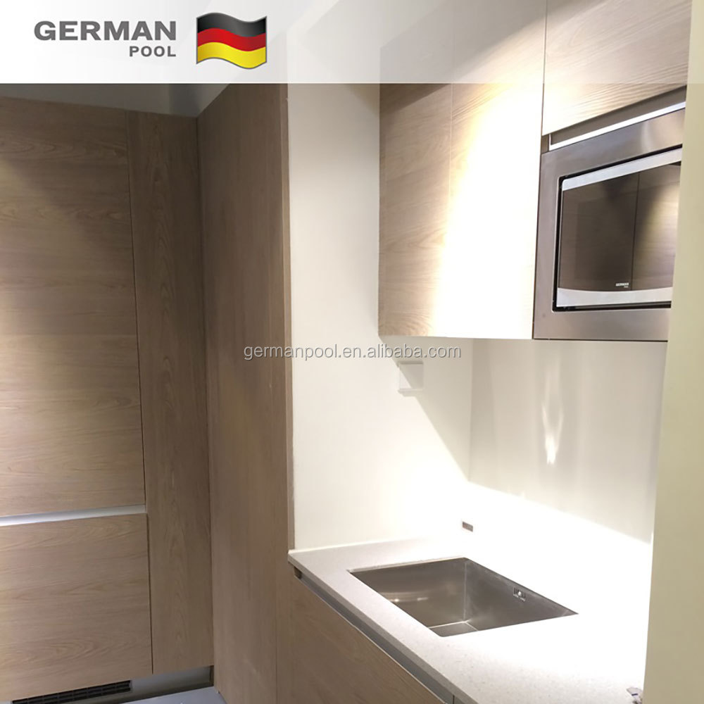 German Pool non- system DIY with FSC Asia Moisture-proof Particleboard Light Brown Colour Timber Cupboard for Office