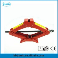 Small manual scissor jack, car repair lifting jack 2 ton