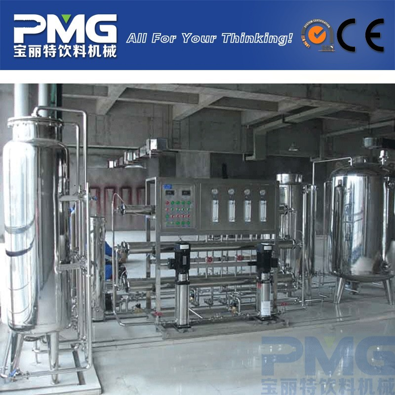 PMG High Efficiency Environmental Friendly Water Treatment Plant / Reverse Osmosis Filter Machine Price