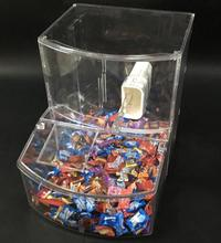 Foods wholesale store candy box for sale nuts grain bulk food gravity bin dispenser
