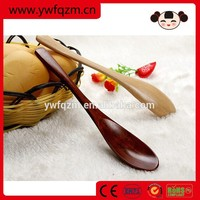 OEM small wooden soup spoon