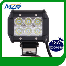 2014 China Manufacturer Auto Spare Parts Waterproof IP 67 Flood Spot Cambo Beam 18W LED Light Bar Fit for all Vehicles