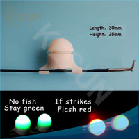Night fishing rod tip led light for catfish bass crappie trout Kesun CHLT3