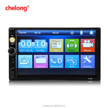"Car stereo Audio, Keepfit Double 2 Din MP5 Bluetooth 7"" 1080P Car Stereo Touch Screen MP5 FM Player Video Audio Radio"