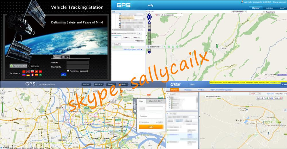high accuracy gps tracker Y2 engine shut off sos alert voice monitoring for car vehicle