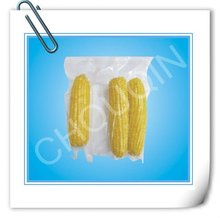 Customized transparent laminated plastic vacuum food bag