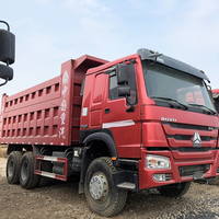 95% new condition competitive price used howo dump truck 6*4/8*4 for sale
