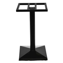 Square Frame Top Metal Furniture Legs Composite Material Table Base