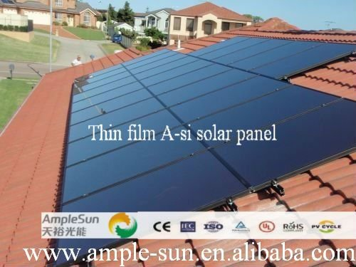 amorphous solar cell, solar panel for electricity generation