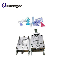 high quality Disposable medical equipment plastic syringe injection mold