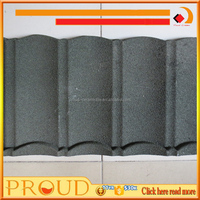 Cheap Colorful Corrugated Metal Sheet/China quality stone coated steel roofing panels / Sand Stone Coated Copper Roof Shingle