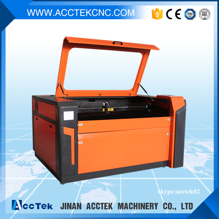 High precision rubber stamp laser engraving and cutting machine AKJ1390