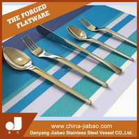 hotel and restaurant use wooden handle flatware