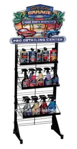 2012 metal rack for car detailing/car beauty product