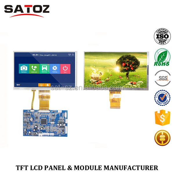 New Arrival For 2016 Touch TFT LCD screen/panel/display/module/lcm/monitor/component