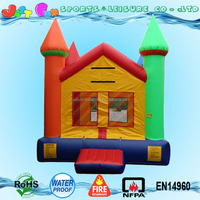 color customized module inflatable bounce house, commercial used moonwalks for sale