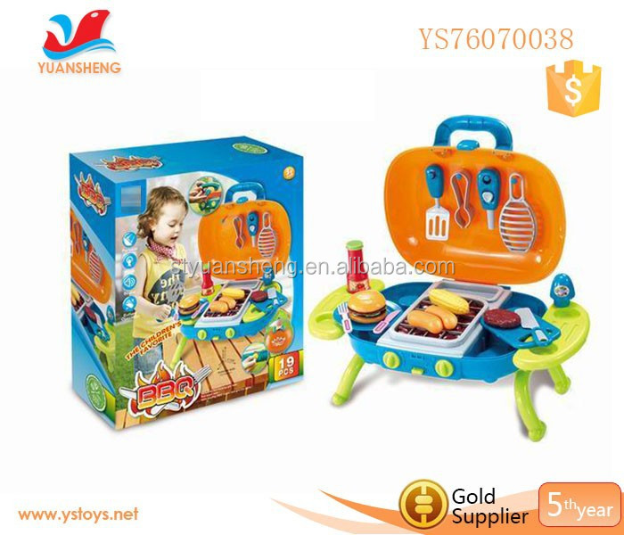 Kids Kitchen BBQ Play Set cooking Play Kitchen Set magasin de jouet