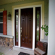 Solid oak wood entrance door with painting paint colors wood doors design