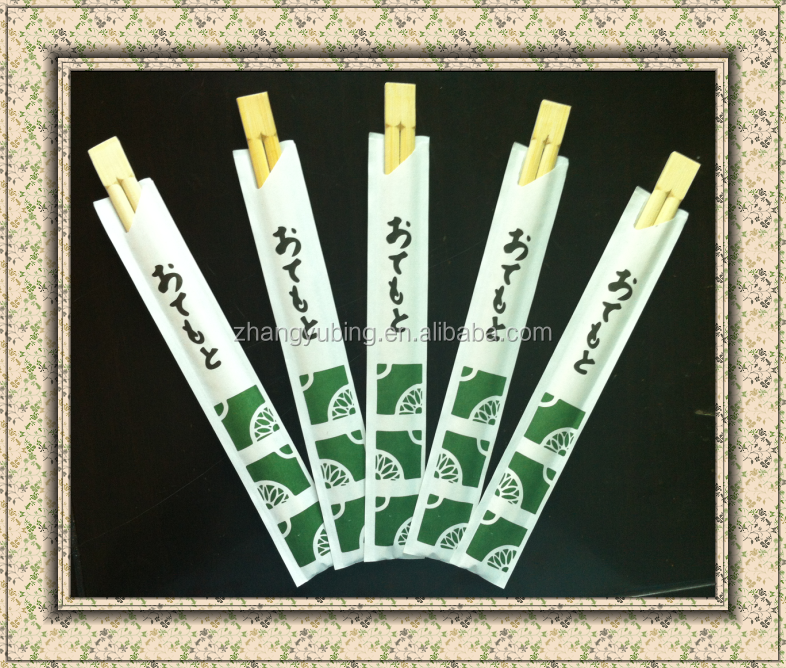 Disposable Tensoge brown bamboo chopsticks in bulk