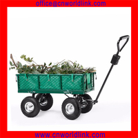 300kgs Garden Folding Iron Wagon Wholesale