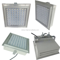 Gas Station 150W Canopy LED Garage Light With Cover