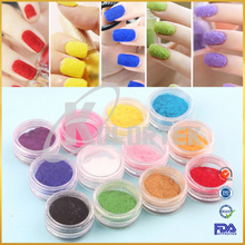 Wholesale color acrylic nail glitter powder