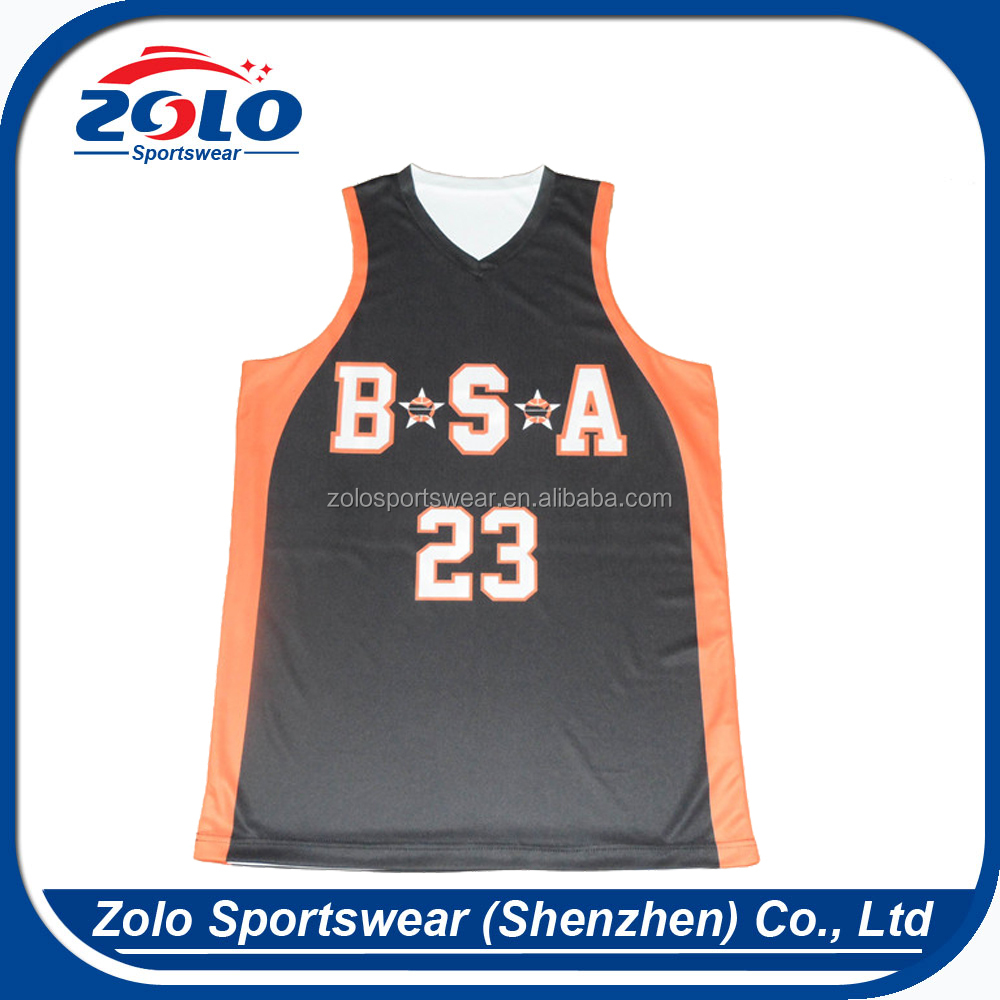 Cheap Custom Sublimation Reversible Basketball Jerseys ...