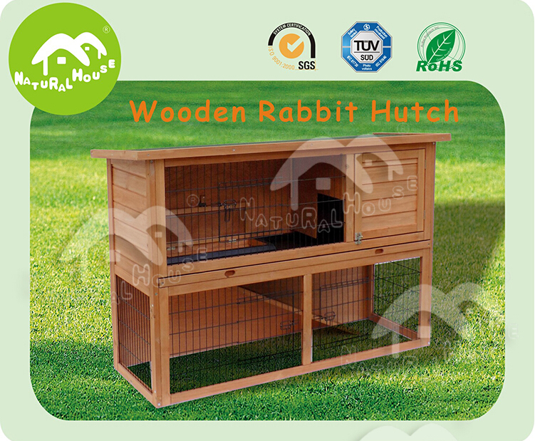 Cheap & hot selling Eco-friendly wooden rabbit hutches