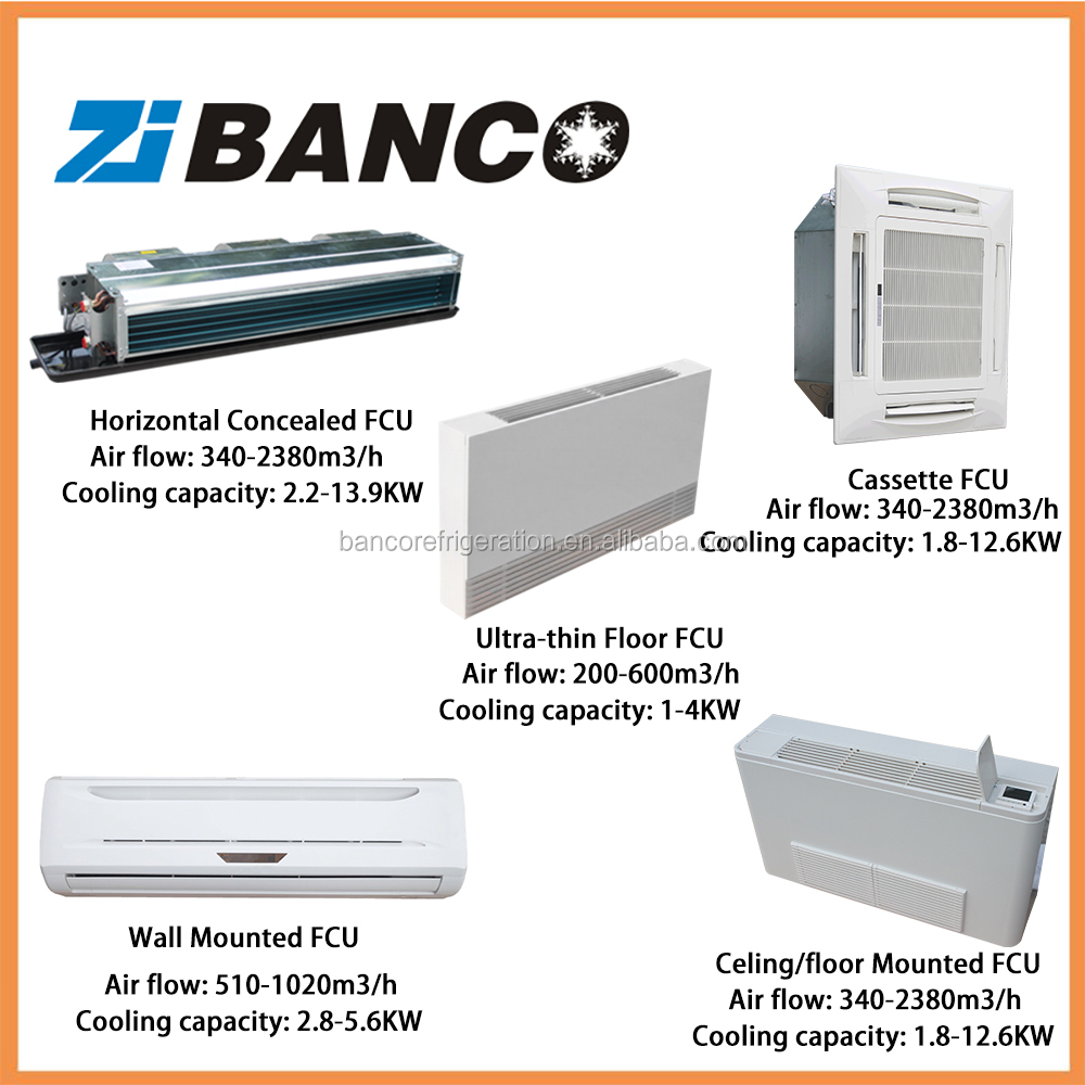 Hvac air conditioning fan coil unit price