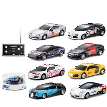 Popular diecast racing cars 1:43 scale 4ch metal rc car