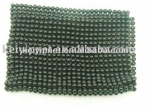 Metal ball round flat mesh fabric for shoes
