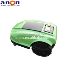 ANON intelligent lawn mower electric grass cutting robotic mowing machine with WIFI in Italy