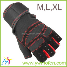 long band black size M L XL best custom weight lifting gloves