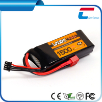 1500mah 14.8V 40C 4S lipo battery for rc helicopter rc hobby