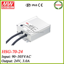Meanwell HSG-70-24 72w led power driver