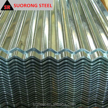 Zinc Coated Steel Strip Corrugated galvanized zinc roof sheets/cheap roofing materials