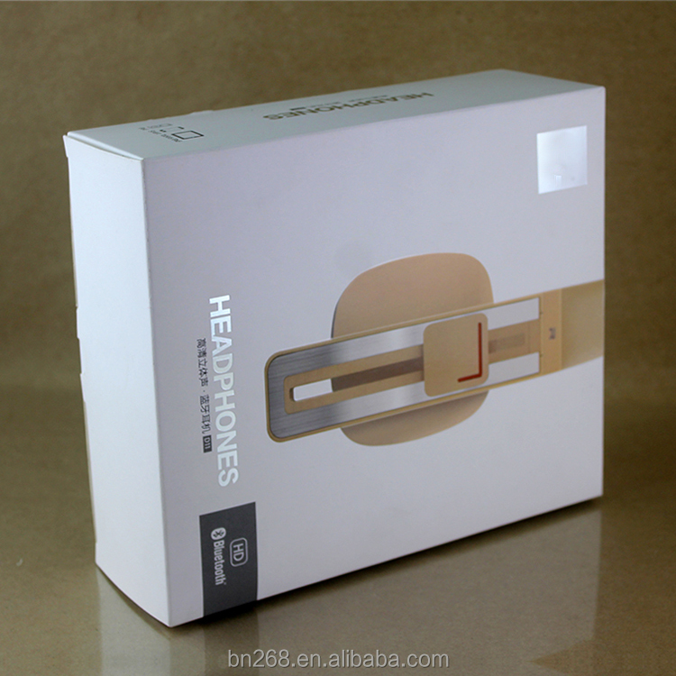Custom printing cardboard box for headphone packaging