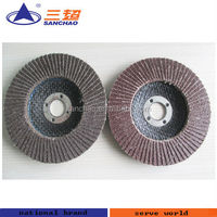 fiberglass cap or plastic cap flap disc for polishing