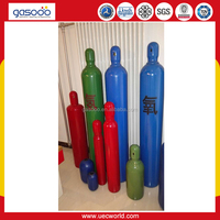 50L TPED approved empty gas cylinder for oxygen nitrogen argon