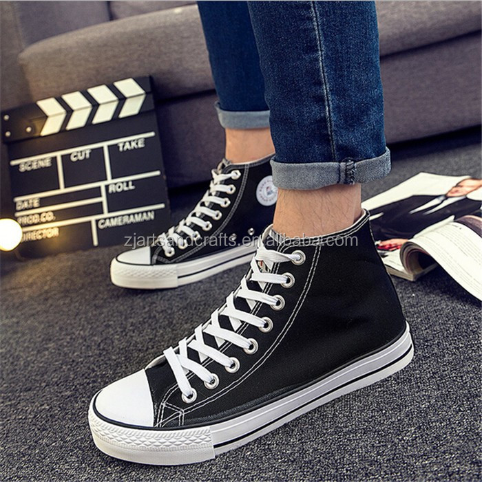 2016 wholesale flat vulcanized casual woman shoes canvas shoes for girls
