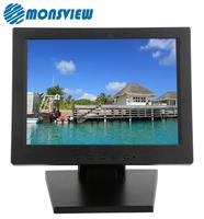 Supermarket POS 10 inch 4 Wire Resistive Touch Screen LCD Monitor